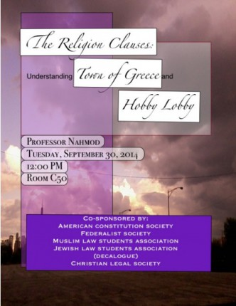 Religious Clauses Flyer