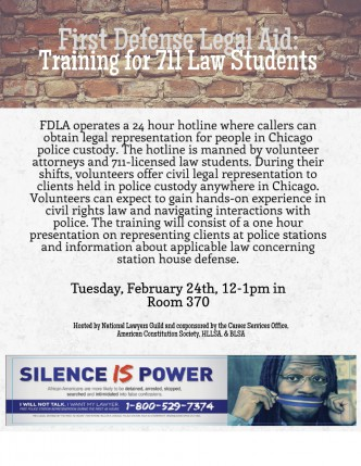 FDLA 711 Training Flyer