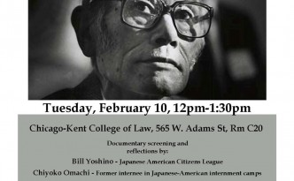 Korematsu Day flyer