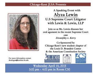 LDB & Lewin Event Flyer