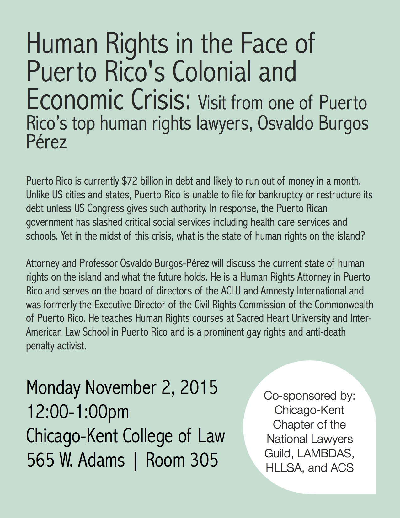 Human Rights in the Face of Puerto Rico's Colonial and ...