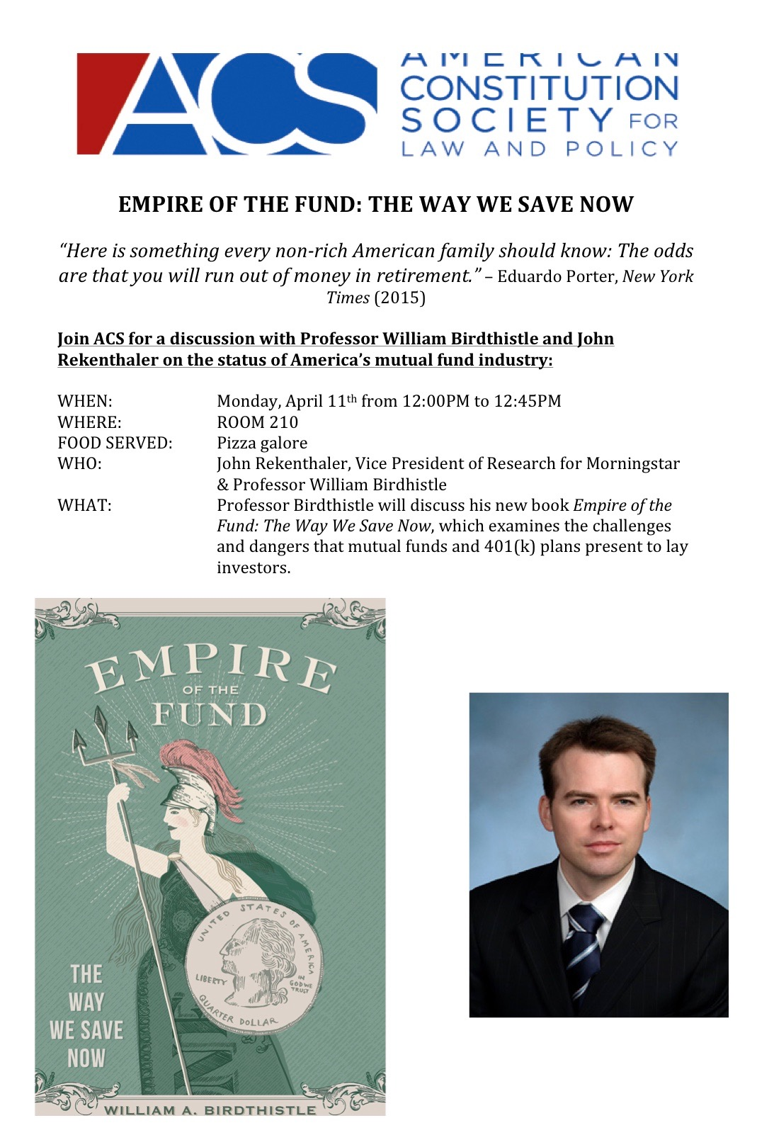 Empire of the Fund Event Presented by ACS