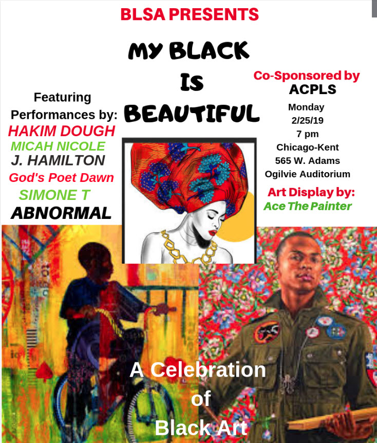 My Black is Beautiful flyer