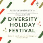 2019 Diversity Holiday Festival Flyer