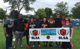2019 Chicago-Kent Students in BLSA team for Out of the Darkness Walk