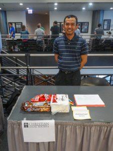 Christian Legal Society at 2015 Student Organization Fair