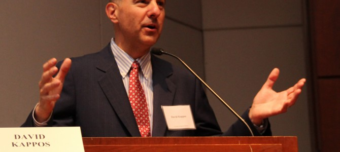 "Keynote Address from David J. Kappos at SCIPR 2014: ""Stalemate or Statesmen:  What is Needed to Move Forward Constructively with the Balancing of America's IP System"""