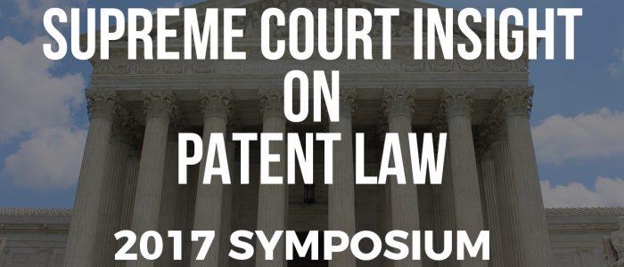 SCOTUS on Patent