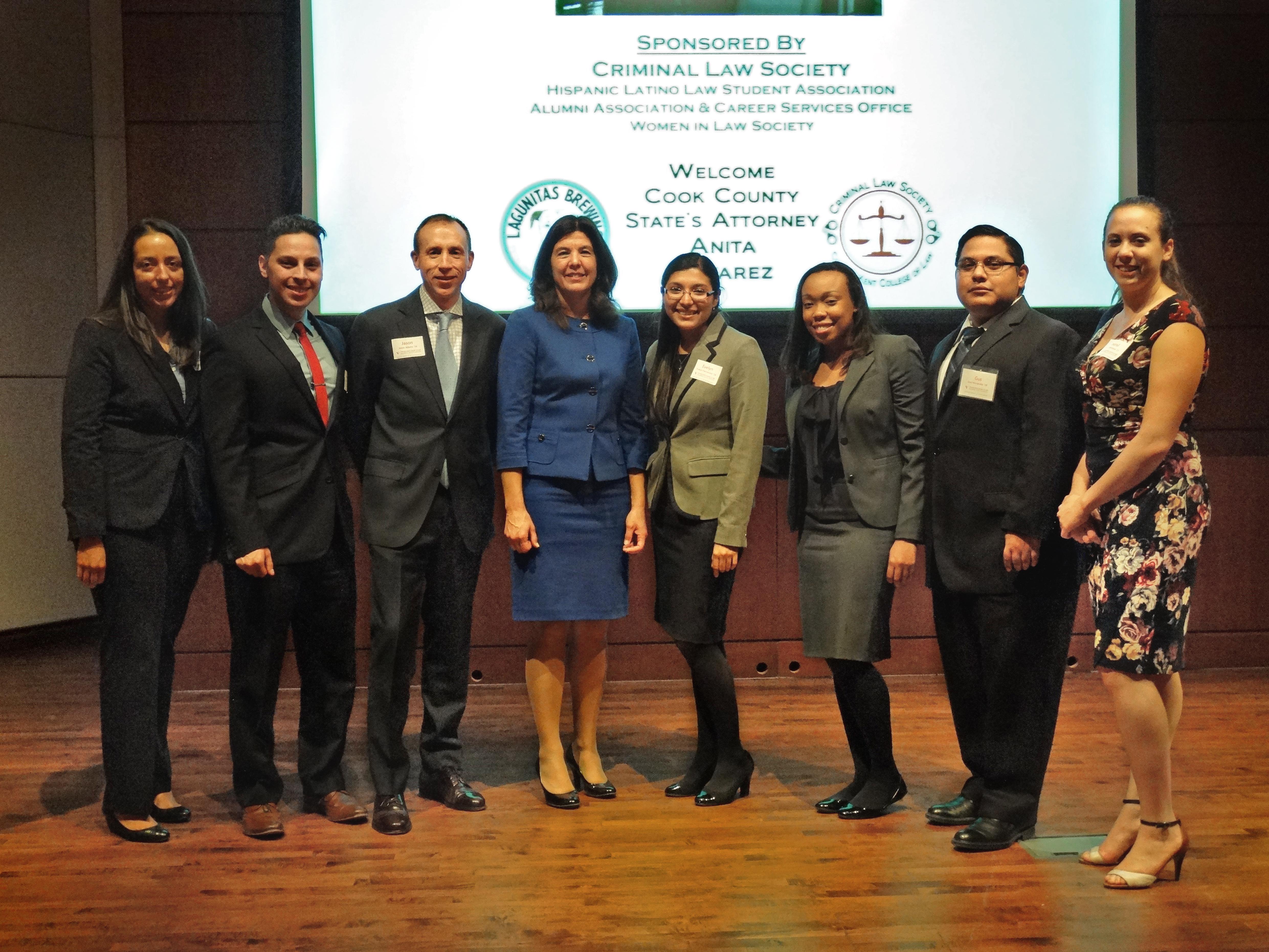 An Evening with Anita Alvarez: An Up-Close Look At The Criminal Law Profession