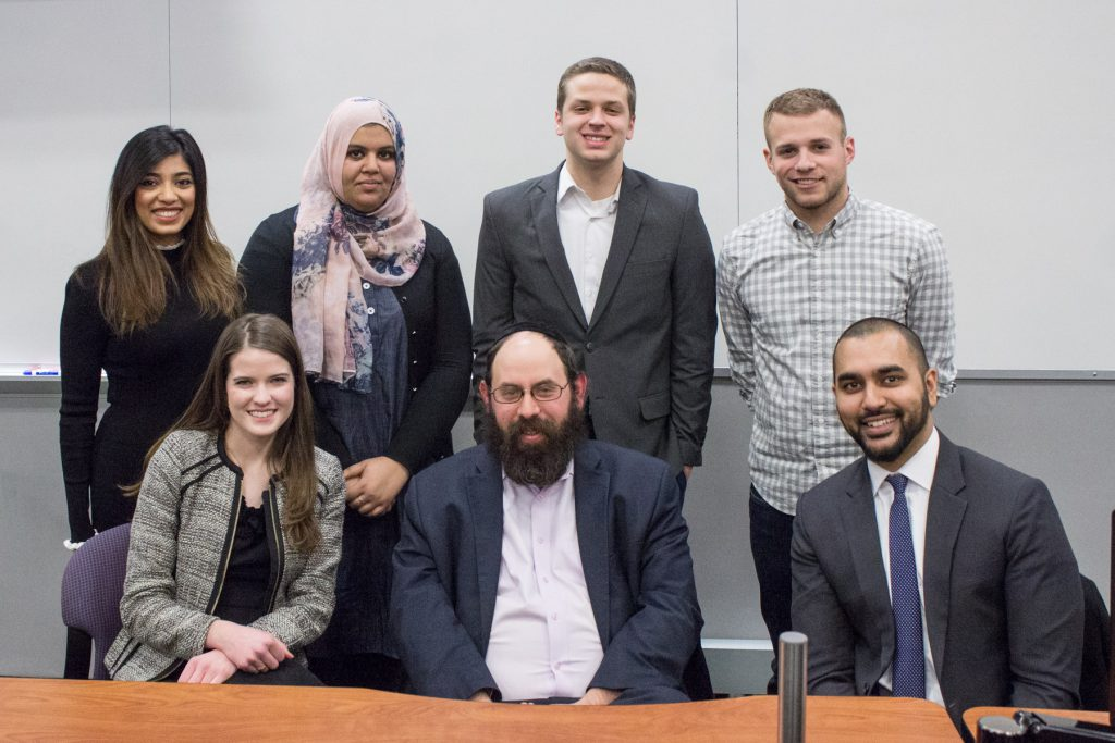 Religion in the Law student leaders and speakers