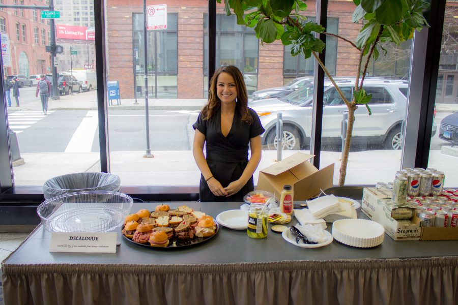 Decalogue table at Diversity Week Food Fair 2018