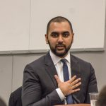 Raseq Moizuddin at Religion in the Law panel