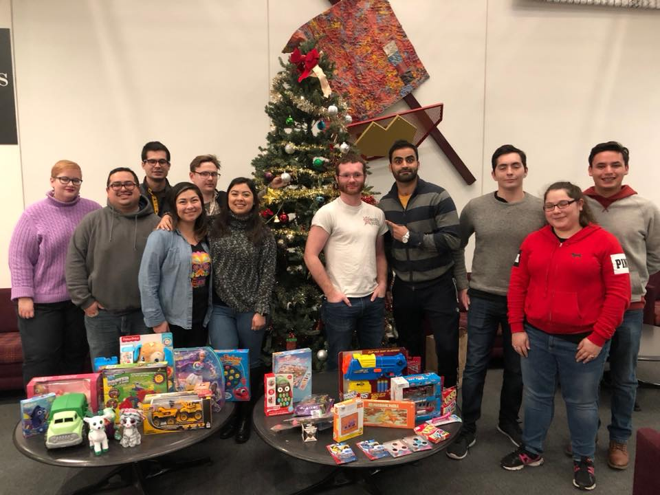 HLLSA Toy Drive Student Members