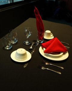 Table Setting Example