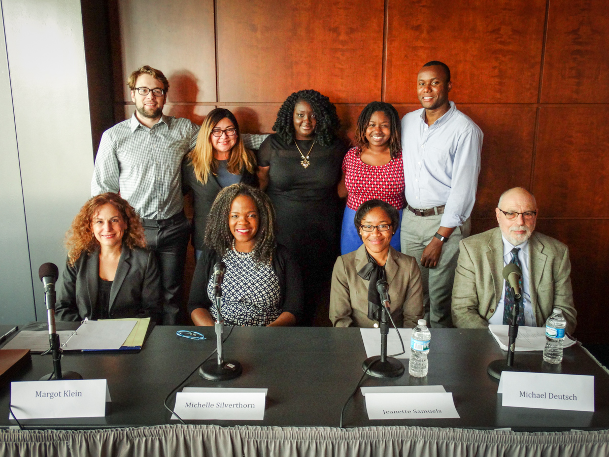 Implicit Bias Panelists with Student Leaders