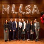 HLLSA Executive Board 2017-2018 with Judge Franklin Ulyses Valderrama