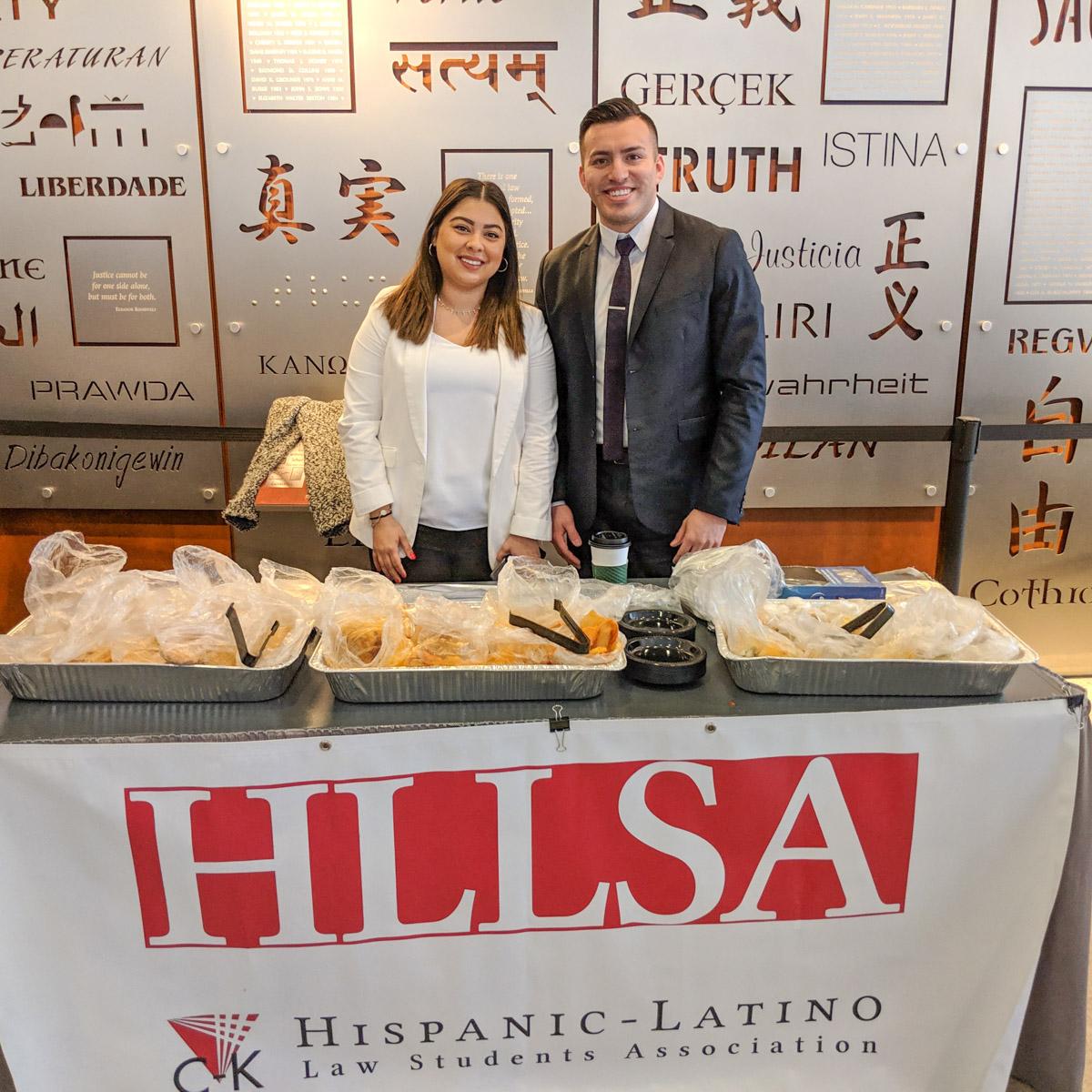 HLLSA Food Fair Table