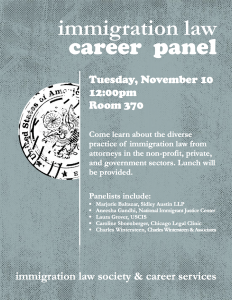 ILS Career Panel 11.10.15