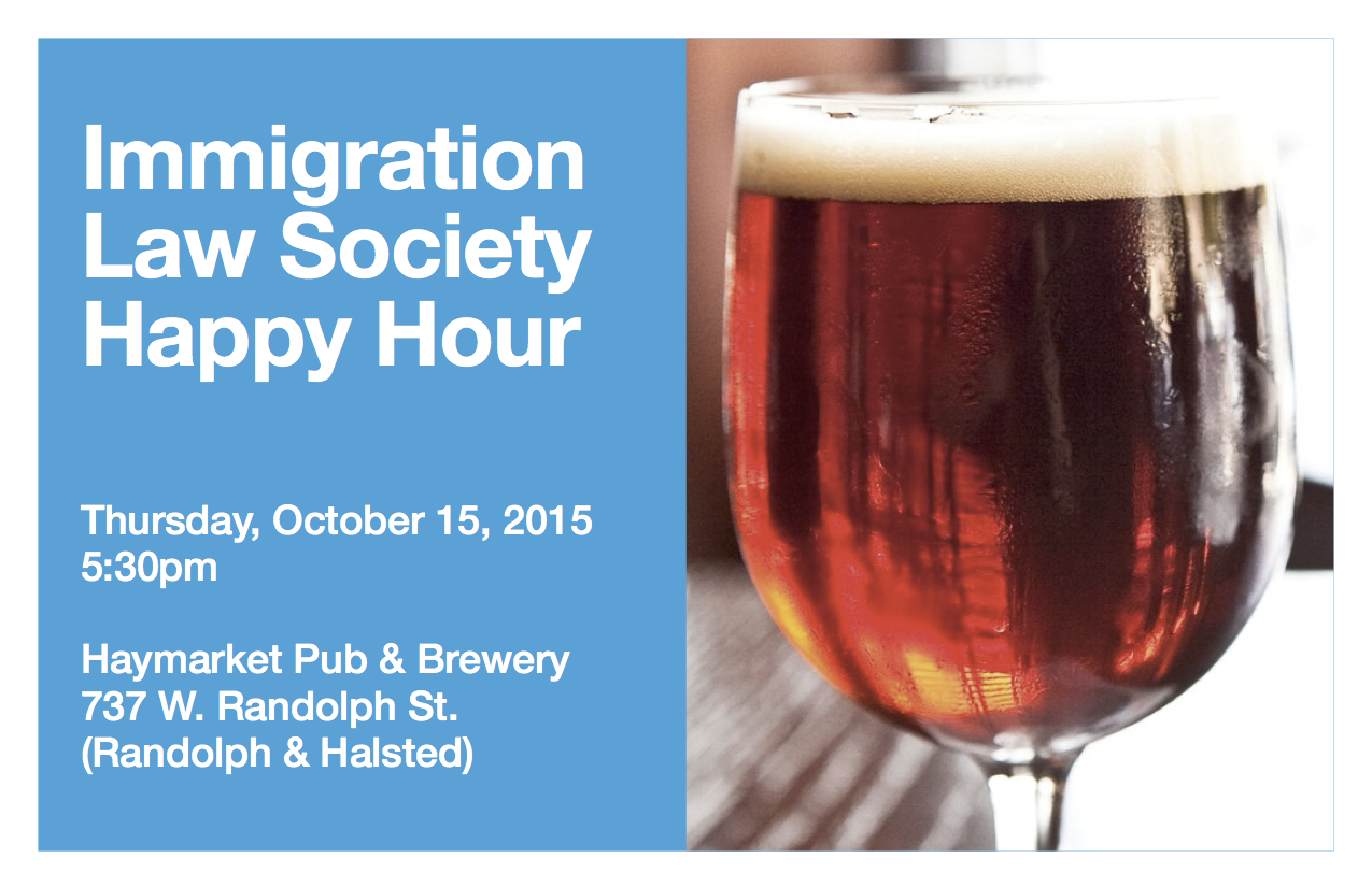 ILS Happy Hour 10.15.15