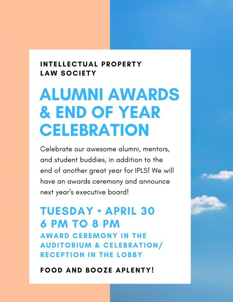 Alumni Awards Flyer 2019