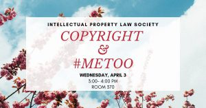 Copyright & MeToo