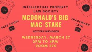 McDonalds Big Mac-Stake Flyer