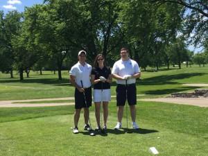 Chicago-Kent Justinian Society Executives at the 2016 Justinian Society Golf Outing