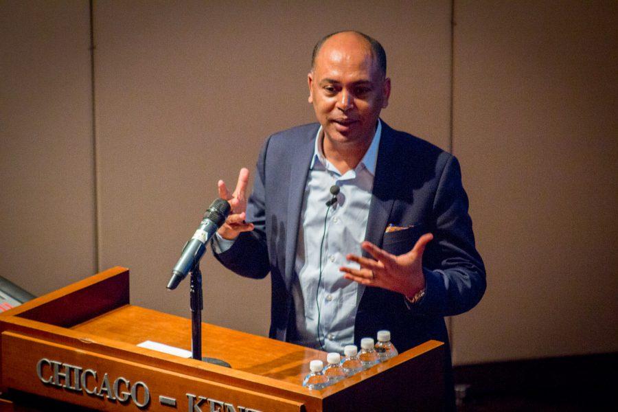 Tefere Gebre, AFL-CIO Executive VP at Chicago-Kent