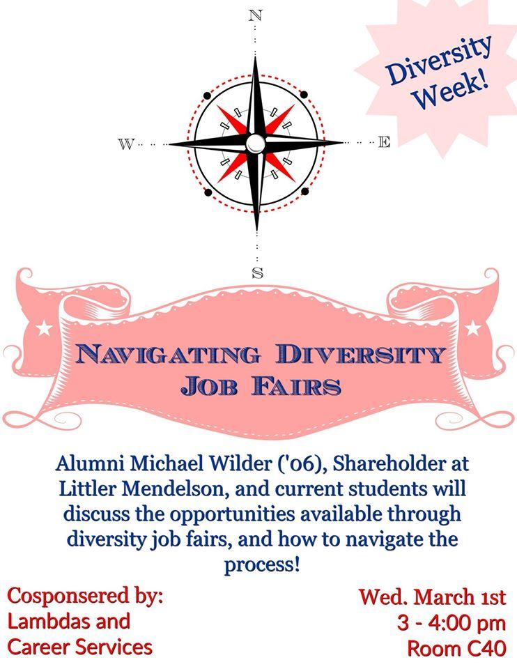Diversity Job Fair Flyer 2017