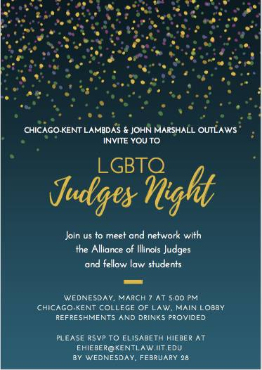 LBGTQ Judges Night