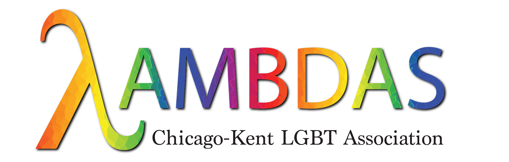Lambdas: Chicago-Kent LGBT Association log