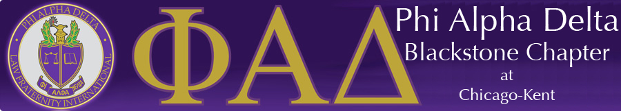Phi Alpha Delta – Blackstone Chapter