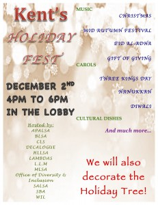 Holiday Fest Flyer