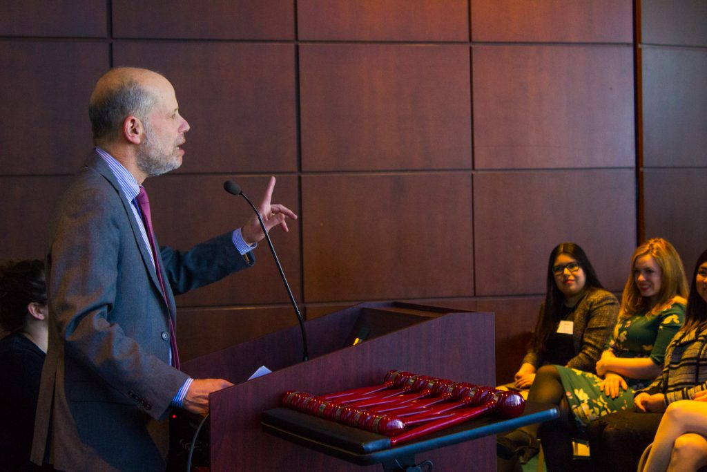 Dean Krent gives State of the Law School address