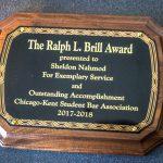 Ralph Brill Award - Professor Sheldon Nahmod