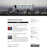 Federalist Society website screenshot