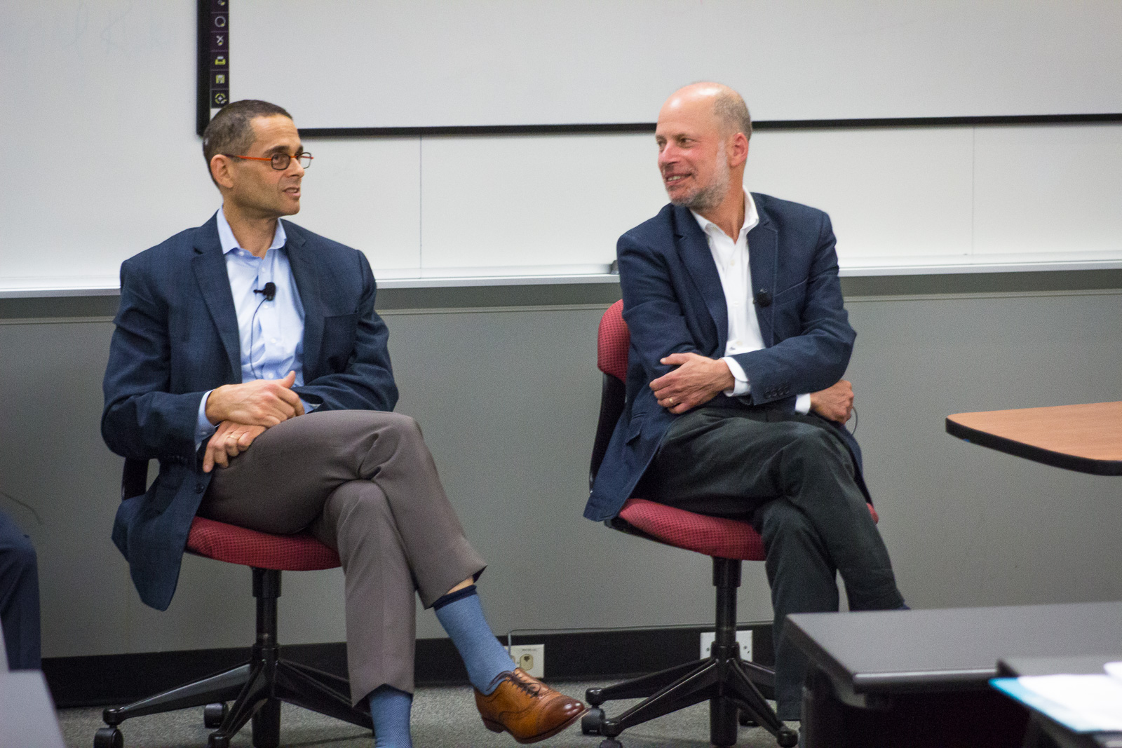 Professor Mark Rosen and Dean Krent at Constitution Day panel