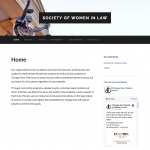Women in Law website screenshot