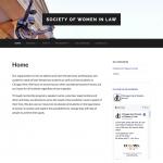 Women in Law website screenshot