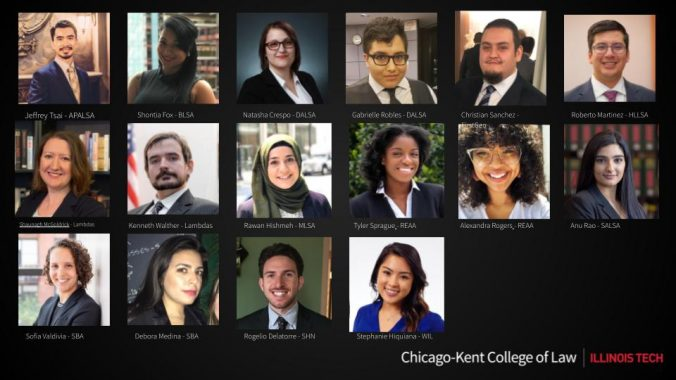 Headshots of 2020-2021 Student Diversity Council Members