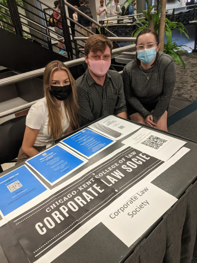 Corporate Law Society at Fall 2021 Student Org Fair