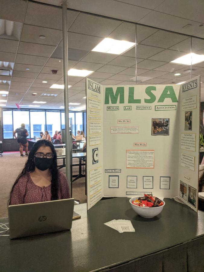 MLSA at Fall 2021 Student Org Fair